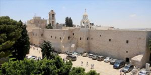 Restore edilen Doğuş Kilisesi ziyaretçilerini ağırlıyor