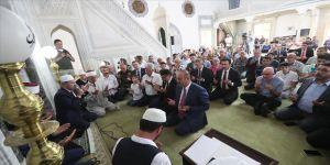 Çavuşoğlu, Kuzey Makedonya'da '15 Temmuz' programına katıldı