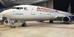 AnadoluJet uçağına '15 Temmuz' logosu