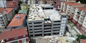 Gebze'deki 7 katlı otoparkın tüm katları göründü