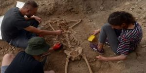 Sinop'ta arkeologları şaşırtan iskelet