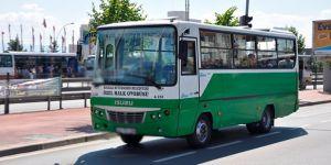 Halk otobüsü şoförü alkollü yakalandı