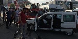 Çayırova'da çekici 4 aracı biçti