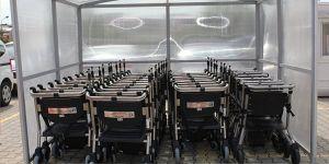 Farabi'ye yeni tekerlekli sandalyeler