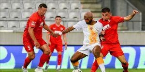 Galatasaray hazırlık maçında mağlup oldu