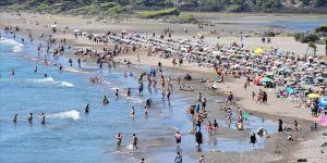 Muğla sahillerinde yoğunluk