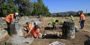Euromos'ta '2 bin 200 yıllık beyin ameliyatı' izleri