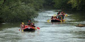 Melen Çayı'nda rafting turları başladı