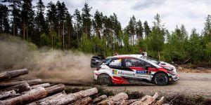 Finlandiya Rallisi'ni Tanak kazandı