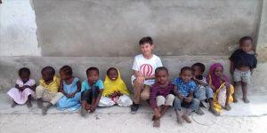 Reklam filminde oynayan Bursalı çocuklara Zanzibar sürprizi