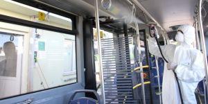 Otobüslerde bayram temizliği