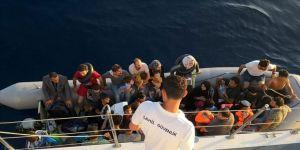 128 düzensiz göçmen yakalandı