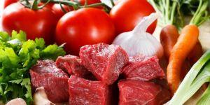 Bayramda etin yanında sebze de tüketilmeli