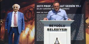 'Prof. Dr. Fuat Sezgin Bilim Tarihine Yolculuk' sergisi açıldı