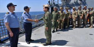 Doğu Akdeniz'deki Türk donanmasında bayram heyecanı