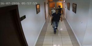 Darbecilerin silahlı 'delil karartma' çabası güvenlik kamerasında