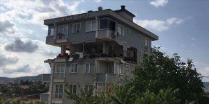 Sancaktepe'de evde patlama