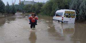 İtfaiyenin yağış raporu