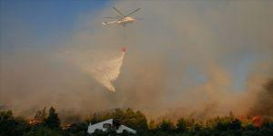 Bakan Pakdemirli: Urla yangını neredeyse tamamen kontrol altına alındı