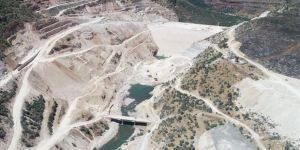 Silvan Barajı'nda fiziki gerçekleşme yüzde 60'a ulaştı