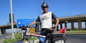 İzmirli belediye işçisi 'Adalet ve Demokrasi Yolculuğu'na başladı
