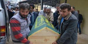 İstanbul'daki sağanakta hayatını kaybeden Güdek, memleketinde defnedildi