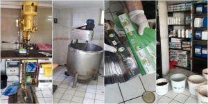 Sahte nargile tütünü imalathanesine operasyon