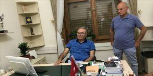 Baykal, Meclis'te gazetecilerle sohbet etti