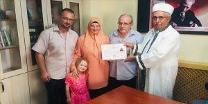 Fransız Sandrine, Müslümanlığı seçti