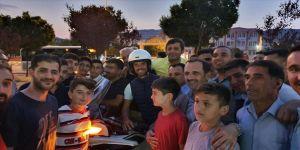 Dünya şampiyonu Sofuoğlu Türkiye turu için gaza bastı