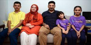 Iraklı aile Türkiye'ye minnettar