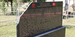 Tiran'daki 15 Temmuz Şehitler Anıtı'na saldırı