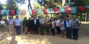 Kocaelili İYİ Parti'liler 30 Ağustos Zafer Bayramı kutlamaları için buluştu