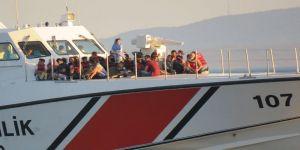 Çanakkale'de 256 düzensiz göçmen yakalandı