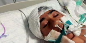 Maganda kurşunuyla ağır yaralanan Efe hayata tutundu