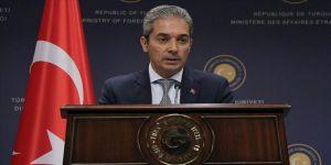Aksoy: Kolombiya'daki barış sürecine verdiğimiz destek devam edecek