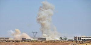 YPG/PKK yine Azez'e saldırdı