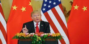 Trump'tan Çin'e 'Tekrar seçilirsem, ticari anlaşma daha sert olur' mesajı
