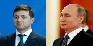 Putin ile Zelenskiy görüştü