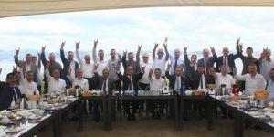 MHP'de belediye meclis üyeleri buluştu