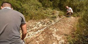 Bilecik'te tarihi yol kalıntıları bulundu