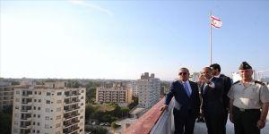 Bakan Çavuşoğlu, Maraş'ı ziyaret etti