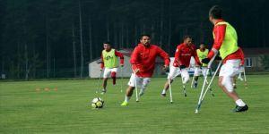 Ampute Milli Futbol Takımı'nın kampı sona erdi