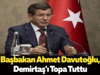 Başbakan Ahmet Davutoğlu,Demirtaş'ı Topa Tuttu