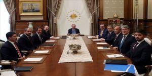 Erdoğan, Yerli Otomobil Konsorsiyumu temsilcileriyle görüştü