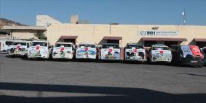 İHH ve Fetih-Der'den İdlib'e yardım konvoyu