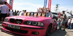 Klasik ve modifiye araç tutkunları festivalde buluştu