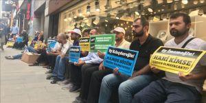 İBB'de işten çıkarılanlar oturma eylemi başlattı