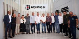 Beşiktaşlı eski sporculardan Avcı'ya ziyaret