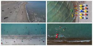 Bozkırın plajları' deniz kıyılarını aratmıyor